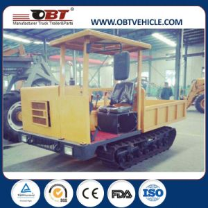 Diesel Engine Construction Site Dumper with Rubber Track pictures & photos
