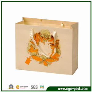 Exquisite and Popular Paper Bag with Handles pictures & photos