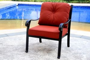 Classic Club Chair Cast Aluminum Furniture for Garden pictures & photos