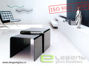 High Quality Glass Nesting Table in 2015 pictures & photos