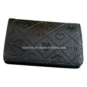 Custom Logo Business Gift Leather Name Card Holder pictures & photos