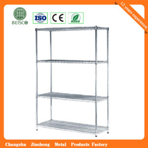 Factory Directly Universal Household Storage Chrome Wire Shelving pictures & photos