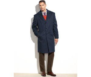 Wholesale OEM Men′s Long Coat in Cashmere pictures & photos