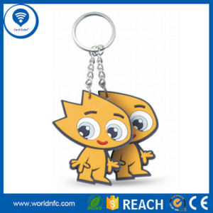 China Em4200 Passive RFID PVC Key Fobs Supplier RFID Keychain pictures & photos