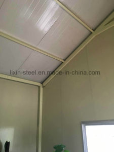 Simple Low Cost portable Steel Frame for Prefabricated House pictures & photos