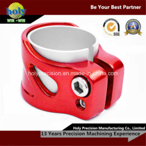 CNC Machining Aluminum Hose Clamp with Anodized pictures & photos