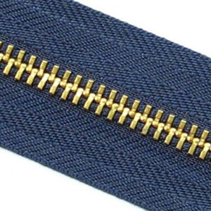 Metal Zipper for Y Teeth Type (5#gold)