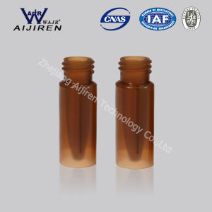 0.3ml PP Vial with Insert Amber Screw Thread Micro Vial pictures & photos