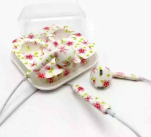 Colorful Printed Earphone for Universal pictures & photos