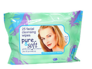 Womens Make-up Removal Facial Cleansing Wipe Alcohol Free Wipe pictures & photos