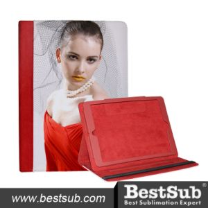 Bestsub New Arrival Sublimation Tablet Case for iPad Air Golden PU Case (IPD18R) pictures & photos