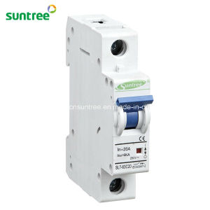 1 Pole DC 250V Solar Mini Circuit Breaker pictures & photos