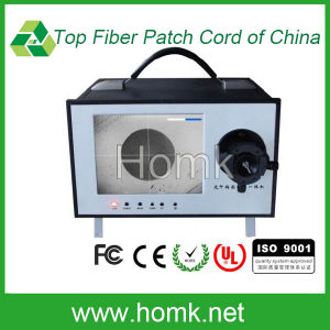 LED Screen End Face Detector Fiber Optical Microscope pictures & photos