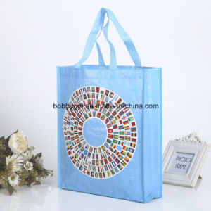 Custom High Quality PP Woven Bag for Shopping pictures & photos