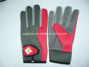Safety Glove-Work Glove-PVC Dotted Glove-Labor Glove-Industrial Glove-Weight Lifting Glove pictures & photos