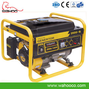 2kw 2.2kw Gasoline Generator Set with Handle and Wheel (WH2600) pictures & photos