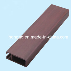 25*80mm WPC Indoor Decoration PVC Ceiling