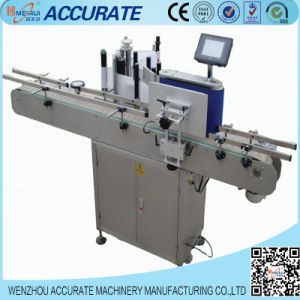 Automatic Round Bottle Adhesive Labeling Machine pictures & photos