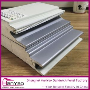75mm Color Steel Polyurethane PU Sandwich Panel for Wall and Roof pictures & photos