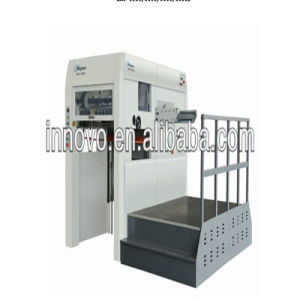 Semi-Automatic Die Cutting Machine with Front Conveyor Delivery Mechanism pictures & photos
