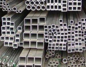 aluminium square tube profile pictures & photos