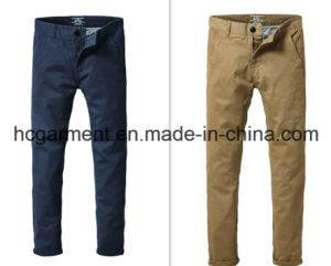 Fashion Colorful Chino Soft Casual Cotton Pants for Man pictures & photos