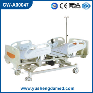 5 Functions Foldable Electric ICU Hospital Bed Cw-A00047 pictures & photos