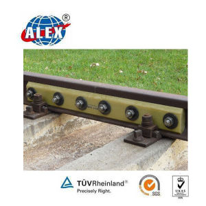 Insulated 75kg Rail Splice Bar for Railway Fastening pictures & photos