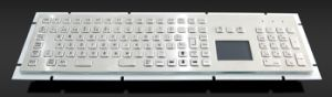 IP65 Metal Keyboard with Touchpad and Numberic Keypad (KMY299H-T) pictures & photos