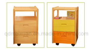 Solid Wooden Drawers Cabinet Modern Nightstand (M-X2557) pictures & photos