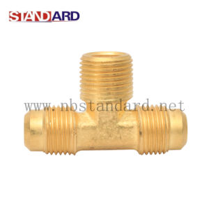 Brass Thread Tee /Gas Fitting pictures & photos