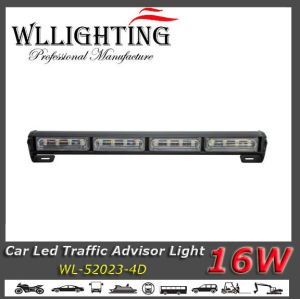 LED Flash Directional Lightbar Traffic Advisor with Linear Lens pictures & photos