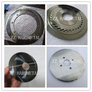 Tungsten Carbide Disc Cutter Tungsten Carbide Round Blank Carbide Disc pictures & photos
