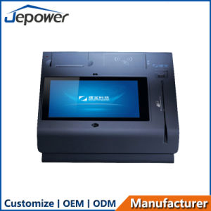 10inch All in One Touch Screen POS with Printer/WiFi/3G/Nfc/Camera/Bt/Magcard and IC-Card Reader pictures & photos