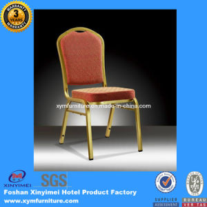 Gold Stackable Hotel Banquet Aluminum Chair pictures & photos