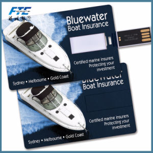 Custom Flash Drive Business Card Fashion Credit USB Card pictures & photos