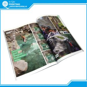 A4 Small Quantity Full Color Magazine Printing in China pictures & photos