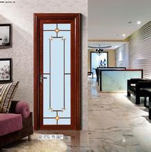 Aluminum Casement Toilet Door with Mirror Glass pictures & photos
