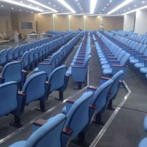 Auditorium Seating, Conference Hall Chairs Push Back Auditorium Chair Plastic Auditorium Seat Auditorium Seating (R-6138) pictures & photos
