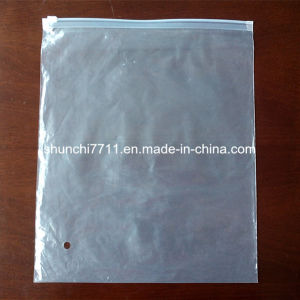 Half-Transparent LDPE Bag with Slider pictures & photos