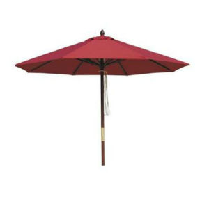 Wooden Beach Umbrella with Various Style Available pictures & photos