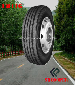 Long March Steer/Trailer Tubeless Truck Tyre with 5 Sizes (LM116) pictures & photos