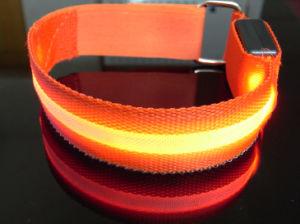 Outdoor LED Reflective Arm Band Belt LED Arm Strap LED Flashing Arm Belt