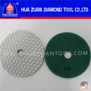 "4"" White Diamond Polishing Pads on Sale pictures & photos"