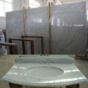Carrara White Marble for Countertop/Vanity Top pictures & photos
