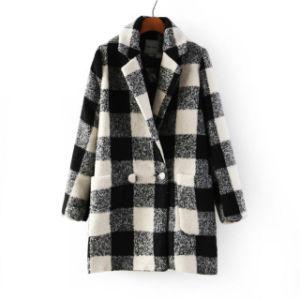 OEM Winter Coat 2015 Plus Size Fashion Women Overcoat pictures & photos