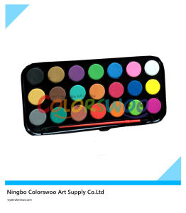 21 Color 2.8cm Classic Water Color Cake for Painting and Drawing pictures & photos