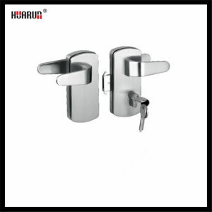 Stainless Steel 304 Swing Glass Door Handle Lock HR-1128/HR-1129 pictures & photos
