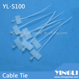 Self Locking Cable Tie for Marking (YL-S100) pictures & photos