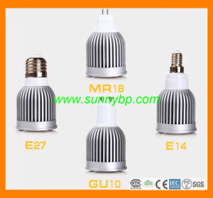 Hot Sell 7W High Power LED Flood Light GU10 E14 pictures & photos